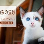 鉱物系の猫砂(ベントナイト)の特徴